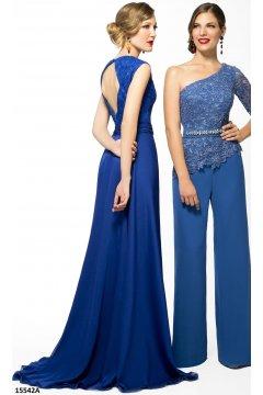 Vestido ANA TORRES Azul Klein