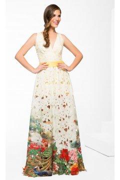 Vestido ANA TORRES Troquelado