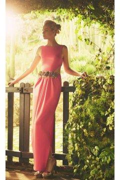 Vestido MATILDE CANO Rosa Nudo Espalda