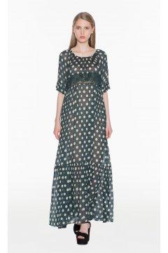 Vestido TWIN-SET Largo Lunares