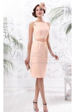 Vestido VALERIO LUNA Adornos Pedrería
