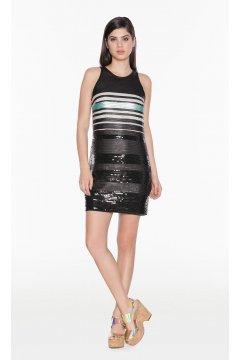 Mini Vestido TWIN-SET Paillettes