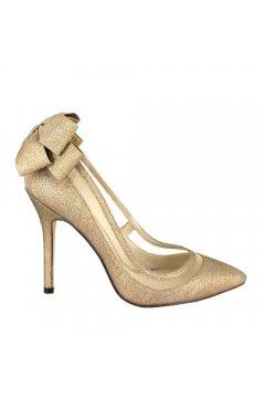 Zapato MENBUR Salón Glitter Lazo