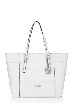 Bolso GUESS Shopper Blanco