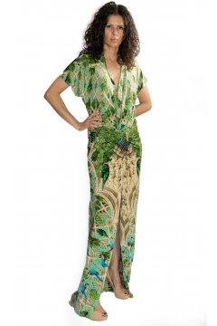 Vestido KORE COLLECTIONS Estampado Tropical
