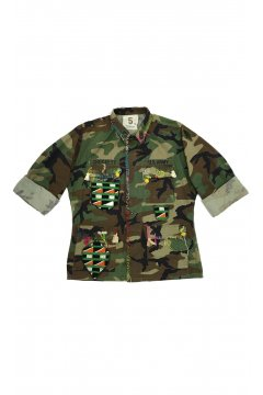 Chaqueta 5 PROGRESS Militar Camuflaje Custumizada