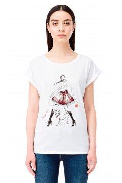 Camiseta ELISABETTA FRANCHI Tartán