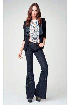 Jeans DENNY ROSE Campana Bordado