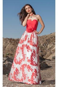 Vestido SONIA PEÑA Largo Estampado Flores