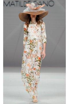 Vestido MATILDE CANO Gazar Estampado