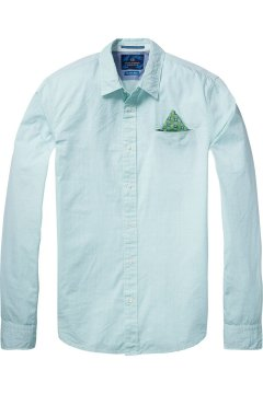 Camisa SCOTCH & SODA Popelin Verde