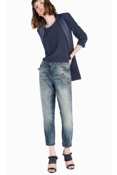 Jeans TWIN-SET Embroibery