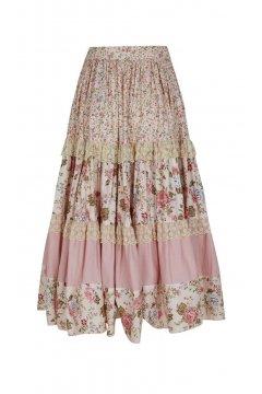 Falda LA CONDESA Combinada Rosa