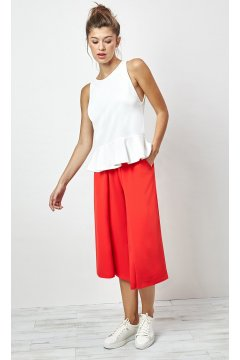 Pantalón ALBA CONDE Culotte Rojo