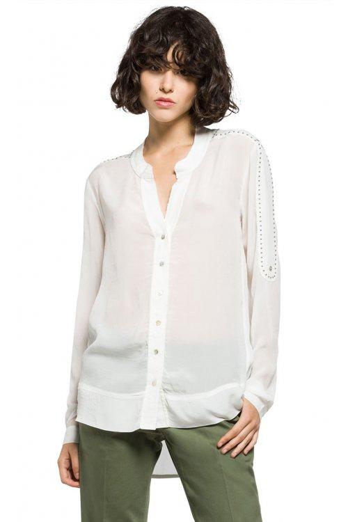 Camisa REPLAY Georgette Tachuelas