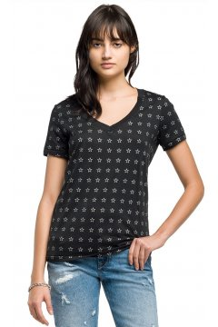 Camiseta REPLAY Estrellas Mini
