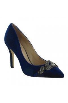 Zapato Menbur Terciopelo Hojas