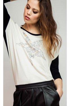 Camiseta ALBA CONDE Bicolor Estrella