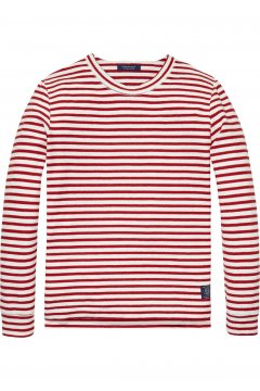 Sudadera SCOTCH & SODA Rayas Roja