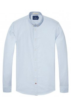 Camisa SCOTCH & SODA Oxford Celeste