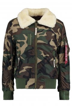 Bomber ALPHA INDUSTRIES Injector III Green