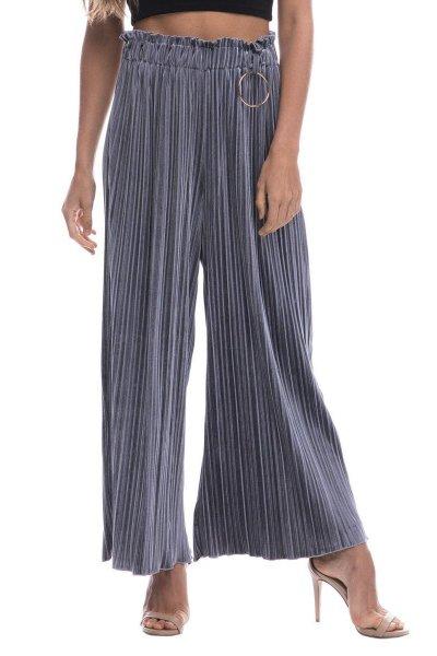 Pantalones ENDOSES ROSE Terciopelo Oversize