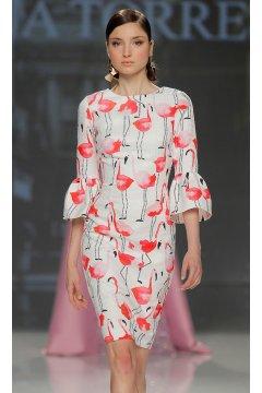 Vestido ANA TORRES Flamencos