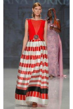 Vestido ANA TORRES Geométrico