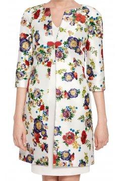 Conjunto CARLA RUIZ Abrigo Floral