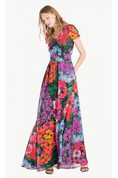Vestido TWIN-SET Largo Estampado