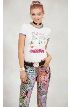 Camiseta HIGHLY PREPPY Canicornio Crudo