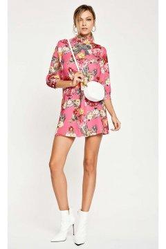 Vestido DENNY ROSE Estampado Flores Lazo