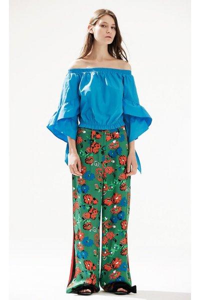 Pantalón ISABELLE BLANCHE Floral