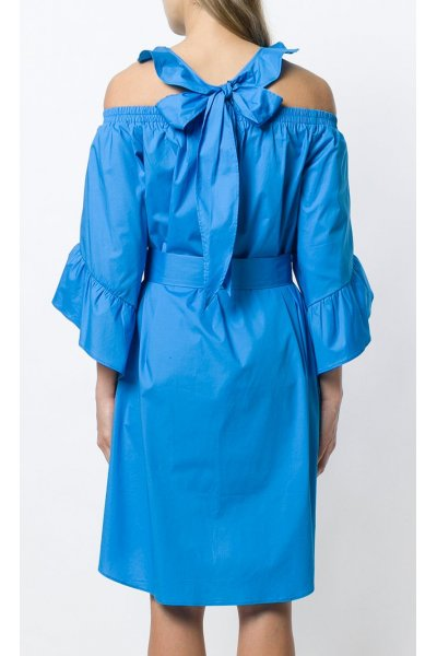 Vestido ISABELLE BLANCHE Popelin