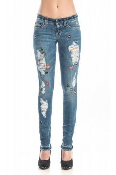 Jeans SOS Stretch Mariposas