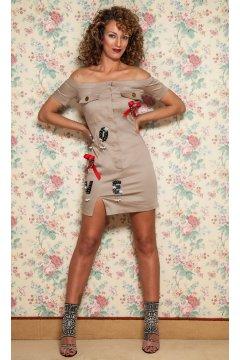 Vestido MANGATA Andrea Satinado