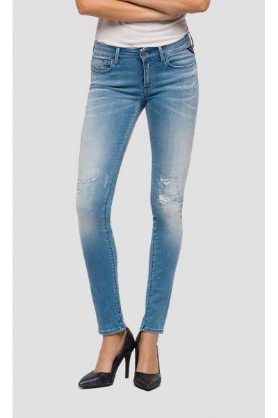 Jeans REPLAY Pitillo Hyperflex Luz Broken & Repair