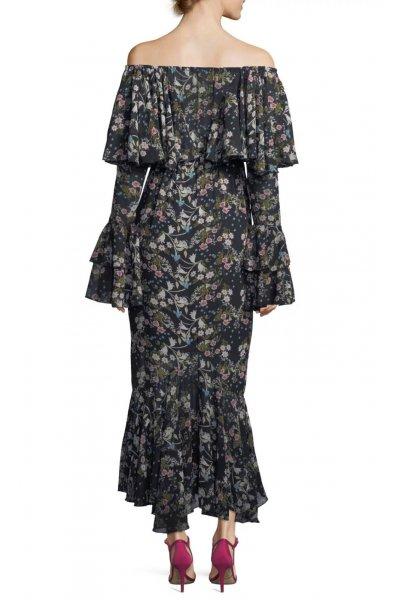 Vestido STYLEKEEPERS Day Dreamer Black Floral