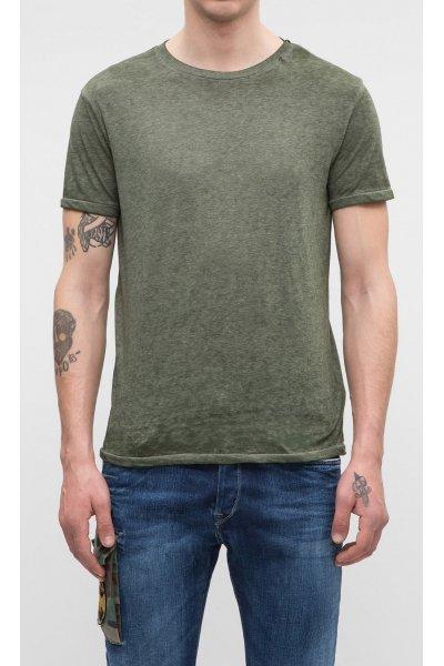 Camiseta REPLAY Print Palmera Verde