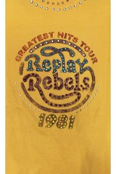 Camiseta REPLAY Stass Decorativo