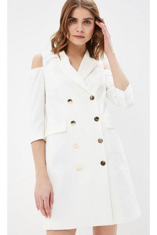 Vestido/Chaqueta RINASCIMENTO Blanco