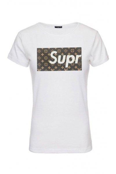Camiseta Unisex FUCK YOUR FAKE Supreme Louis Vuitton
