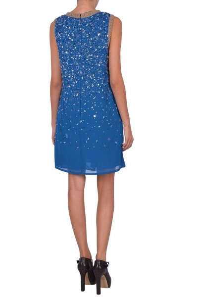 Vestido TWIN-SET Azul strass