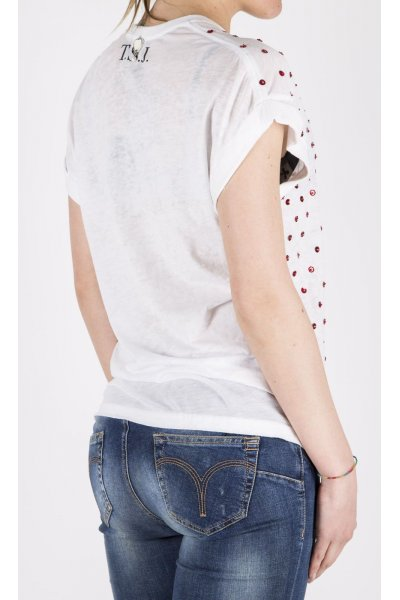 Camiseta TWIN-SET JEANS Labios