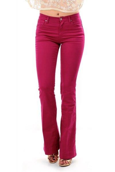Pantalones TWIN-SET Bootcut