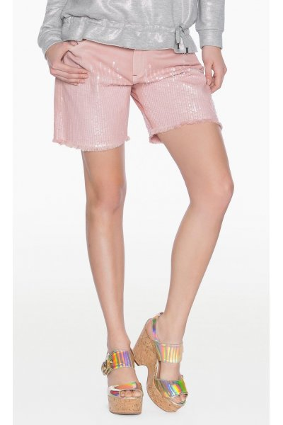 Shorts TWIN-SET Lentejuelas
