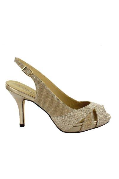 Zapato MENBUR Peep Toe Glitter