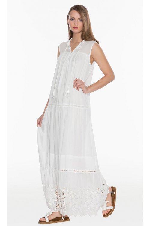 Vestido TWIN-SET Largo White