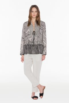 Blusa TWIN-SET Estampada Cashmere