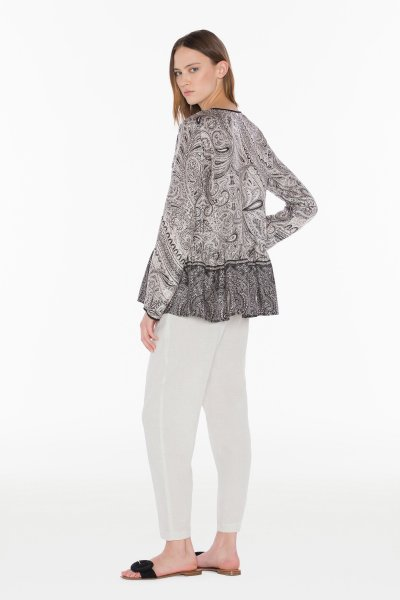 Blusa TWIN-SET Estampada Cashmere